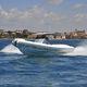 надувная лодка с внутренним мотором / двухмоторная / полужесткая / с центральной консолью