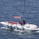 катер с водным парашютом с внутренним мотором / с центральной консолью / вейкборда / для водных лыж