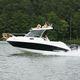 моторная лодка с каютой c подвесным мотором / с закрытой кабиной / макс. 6 человек