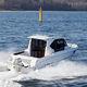 прогулочный катер с каютой c подвесным мотором / хардтоп / с рулевой рубкой / для спортивной рыбалки