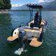 рыболовно-прогулочный катер c подвесным мотором / из алюминия / не определено