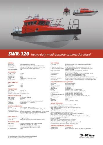 SWR-120 (PDS.SWR-120.02) MULTI-PURPOSE Version