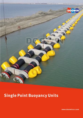 Pipeline Mono Buoyancy Units