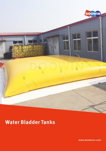 Water Bladder Tanks