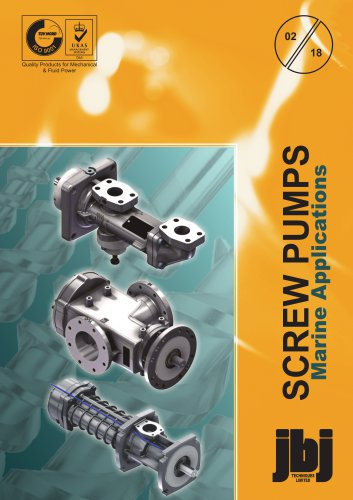Screw pumps for marine applications