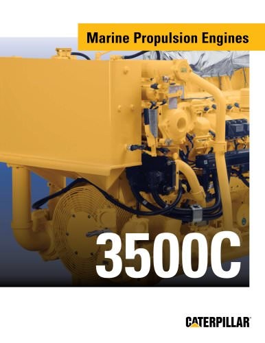 Brochure - Cat 3500C Marine Engine