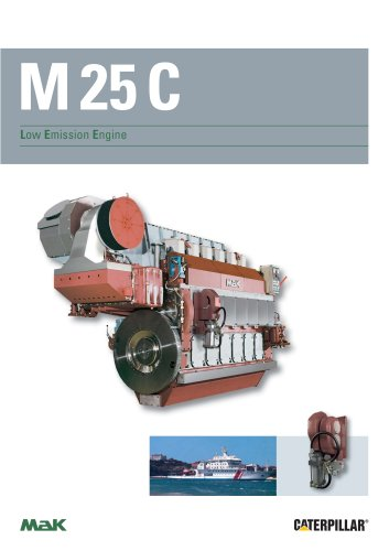 Brochure - MaK M 25 C Low Emission Engine