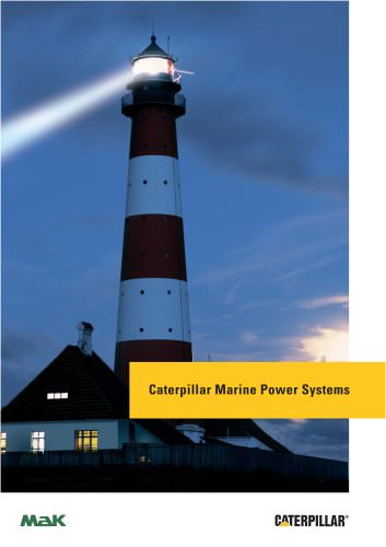 Caterpillar Marine Power Systems Company Profile