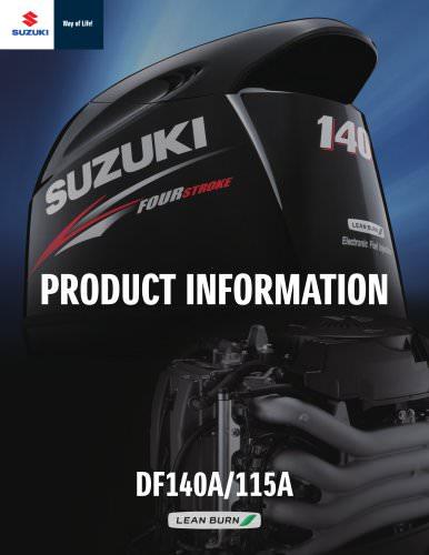 Suzuki DF115/140 Brochure