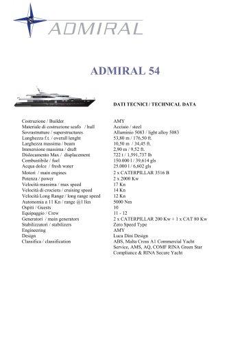 ADMIRAL 54