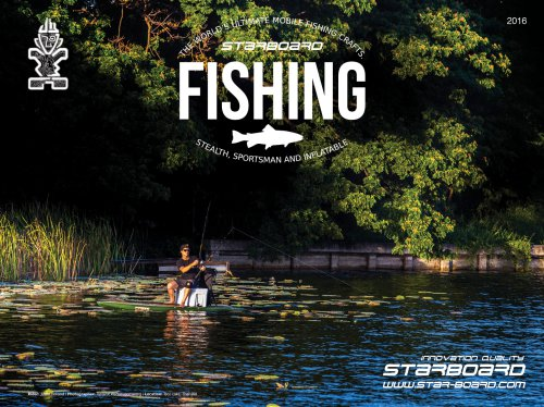 2016 STARBOARD SUP FISHING BROCHURE READ