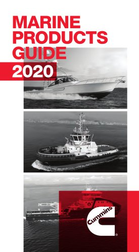 Marine Products Guide 2020