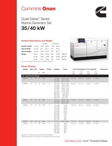 MDDCK/F/L 35/40 kW