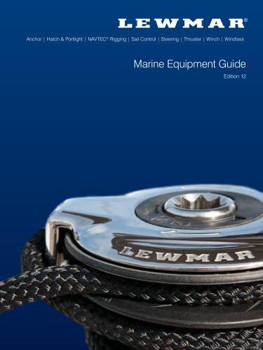 Lewmar Catalogue 2012