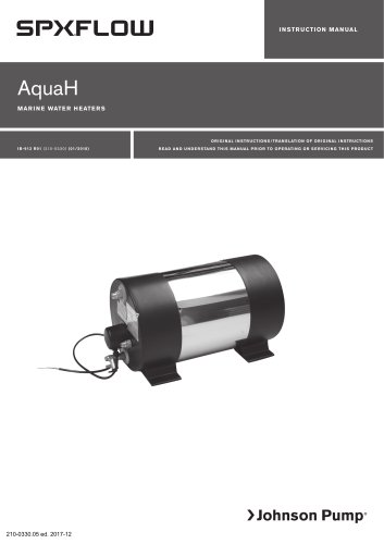 AquaH Marine Water Heater (US only)