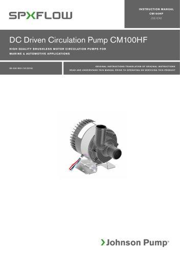 CM100HF High Flow manual ‖ EN, SV