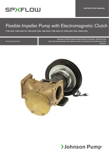 FB-5000/FB-5600 Extra Heavy Duty Clutch Pumps