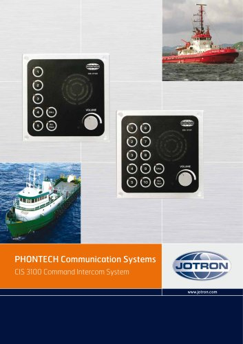 CIS 3100 Command Intercom System