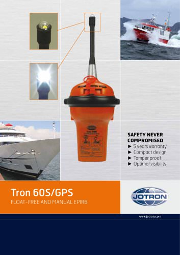 Jotron AS Launches Tron 60S/GPS
