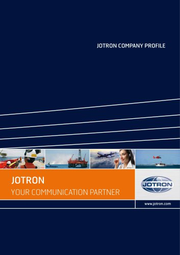 Jotron Group Company Profile 2016