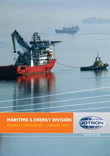 Maritime & Energy Product Catalogue 2014