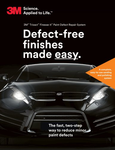 3M™ Trizact™ Finesse-it™ Paint Defect Repair System