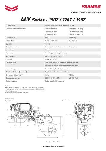 4LV Series - 150Z / 170Z / 195Z