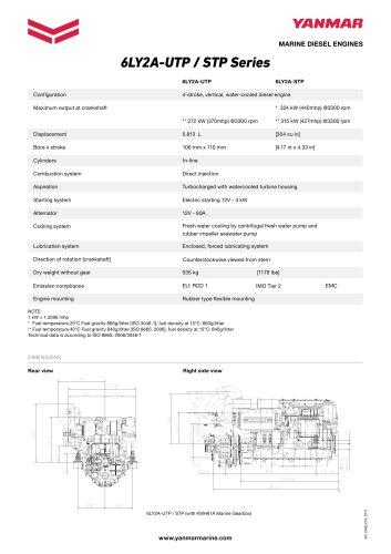 6LY2A-UTP / STP Series