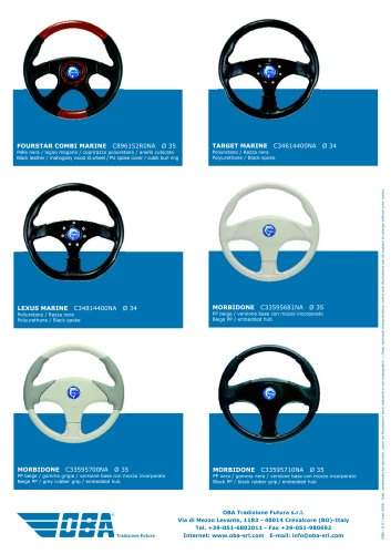 Steering Wheels Nautica vari