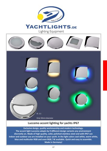 Yachtlights Luccemo accent lights