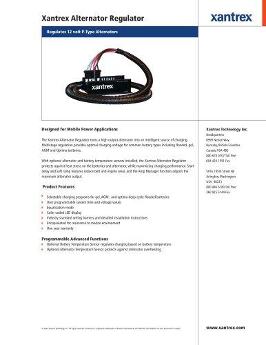 Xantrex Alternator Regulator