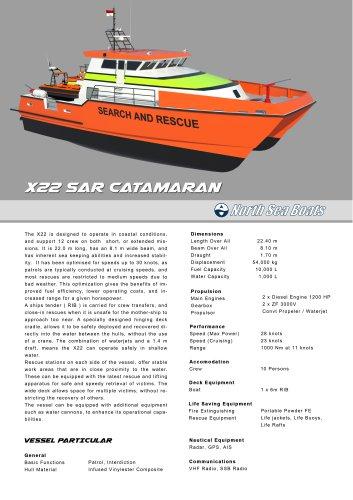 X22 SAR Catamaran