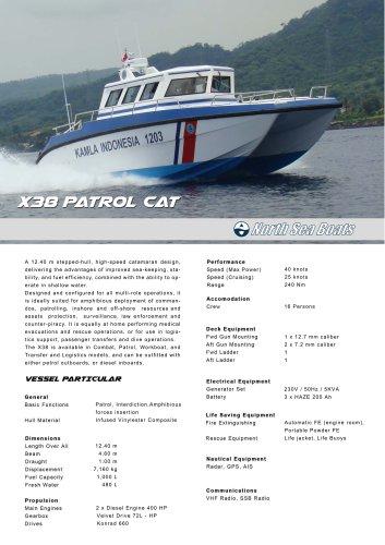 X38 Patrol Catamaran