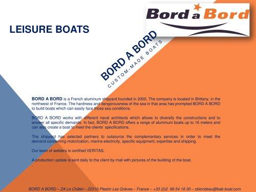 DERVINIS Motorboats brochure