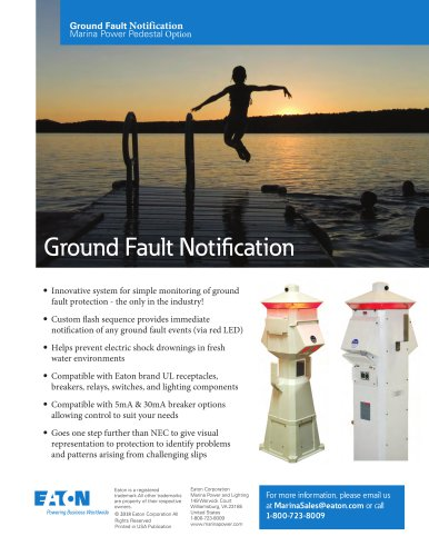 Ground Fault Notification