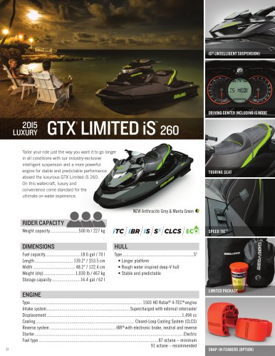 GTX Limited iS 260