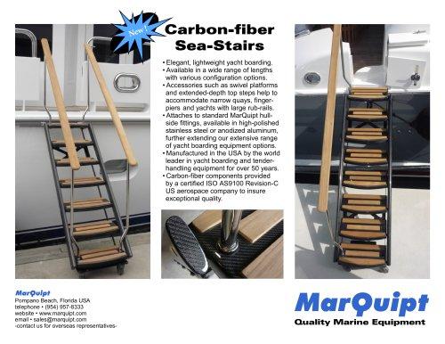 Carbon-fiber Sea-Stairs