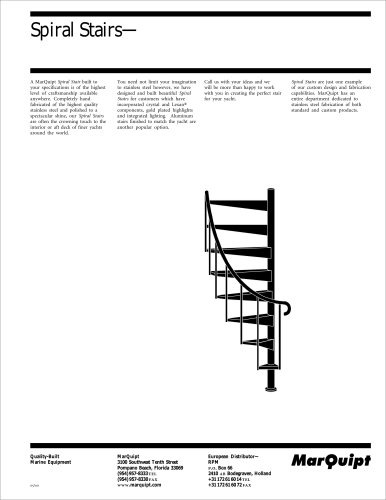 Specification Spiral Stairs