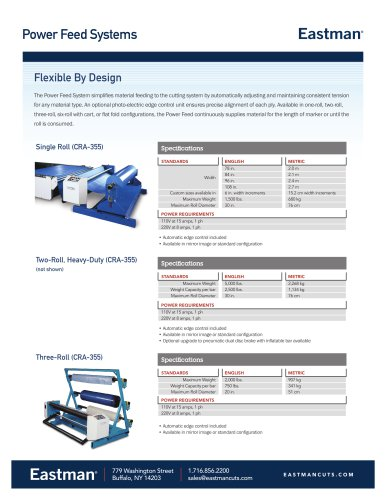 Power Feed Systems