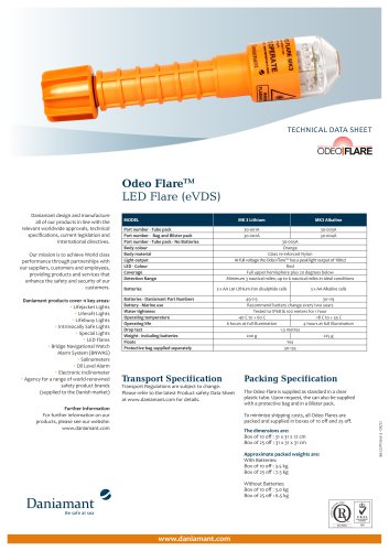 Odeo Flare LED Flare (eVDS)