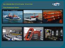 Liya inflatable boat