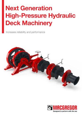 Next Generation High-Pressure HydraulicDeck Machinery