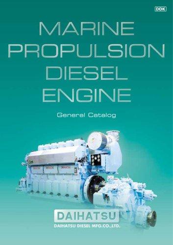 MARINE PROPULSION DIESEL ENGINE
