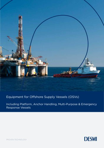 Equipment for Offshore Supply Vessels (OSVs)