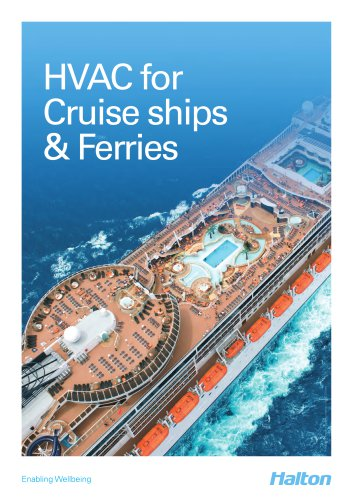 HVAC for Cruise shipes & Ferries