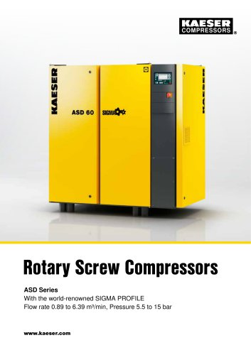 Rotary Screw Compressors ASD Series