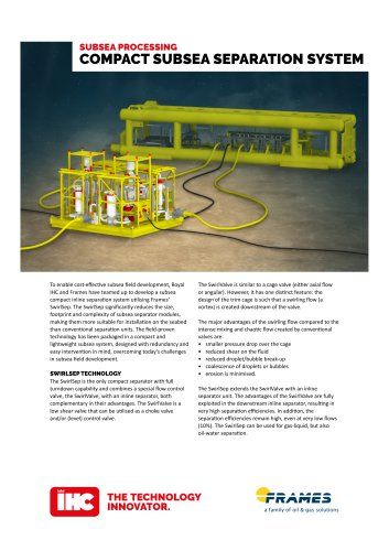 Subsea Seperator System