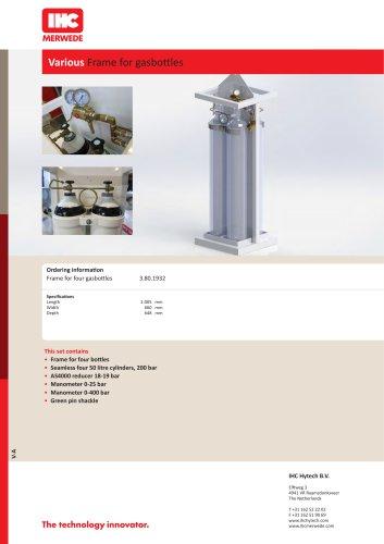 Various Frame for gasbottles