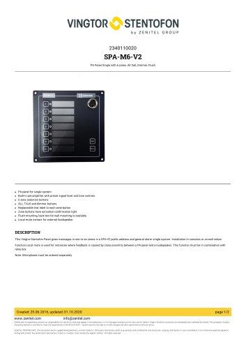 SPA-M6-V2
