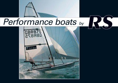 RS Performance Boats Brochure